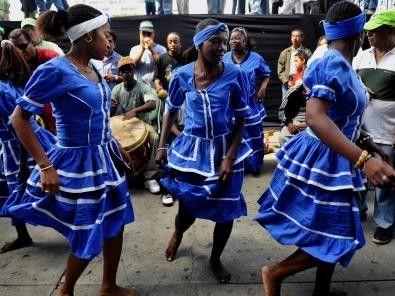 Patrimoine culturel immatériel de l'humanité -Les Garifuna