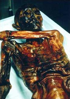 Préhistoire - L'homme de Similaun. Ötzi, la momie des glaces