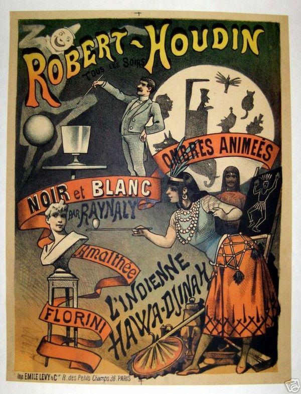Magie et Magiciens - Robert Houdin -1805-1871-