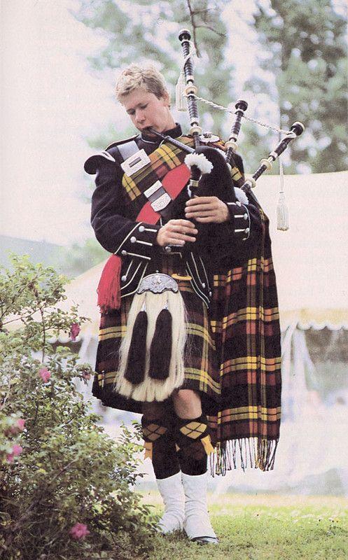 Costumes traditionnels et folkloriques - Costume Ecossais -