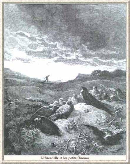 Fables de la Fontaine -Livre I- l'hirondelle et...