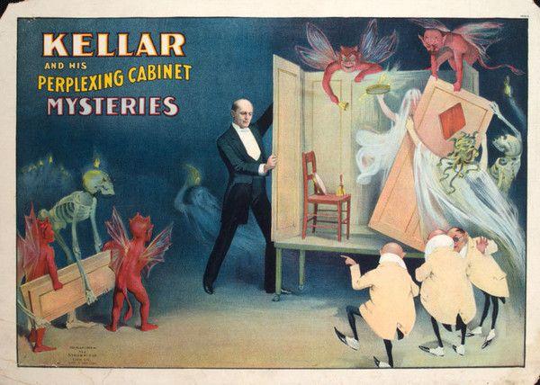 Magie et Magiciens - Harry Kellar -1849-1922-