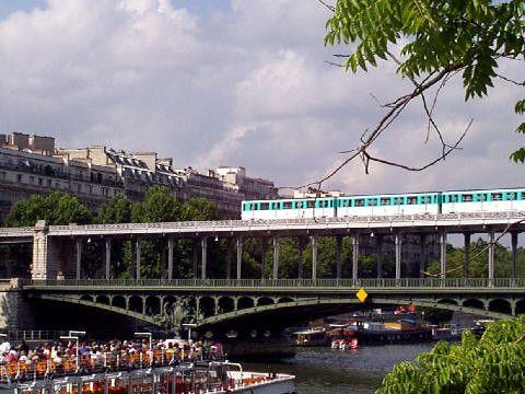 Tourisme et histoire - Paris- Pont de Bir-Hakeim
