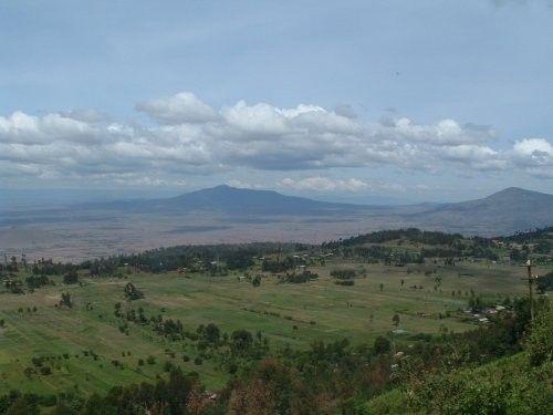 Montagnes et failles - Rift Valley - Kenya -