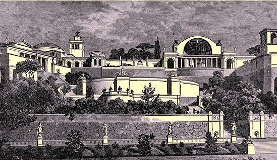 Patrimoine mondial - Villa d'Hadrien - 2 -