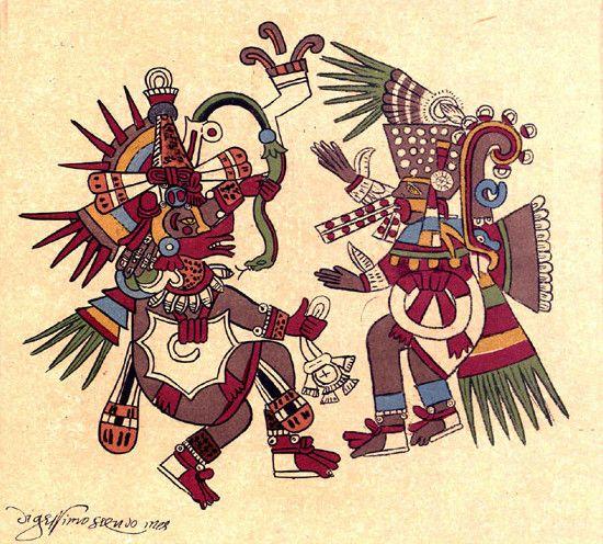 Mythologie Aztèque - Généralités -