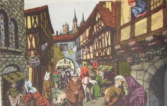 Moyen Age - Société - Le système féodal -