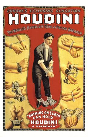 Magie et Magiciens - Harry Houdini - 1874-1926 -