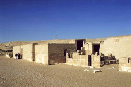 Histoire - Antiquité - Egypte -architecture-Mastaba