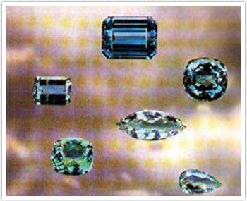 Les gemmes et métaux précieux - L'aigue marine