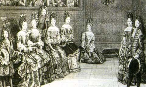 La(les)mode(s) - Costume au XVIIe siècle - (3)