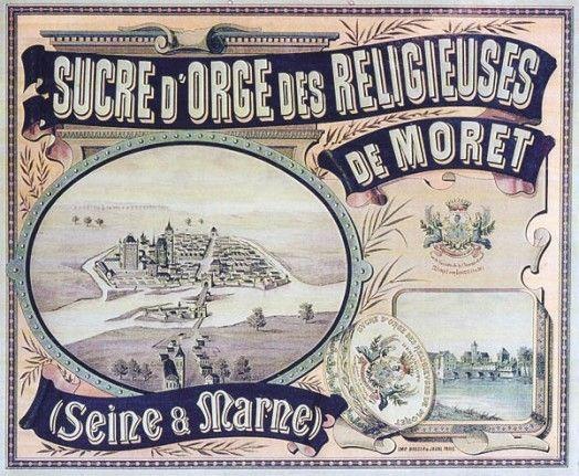 Bonbons et gourmandises -Sucre d'orge de Moret