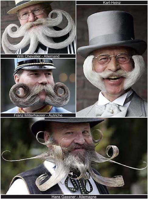 Faits de société - Barbe et moustache -