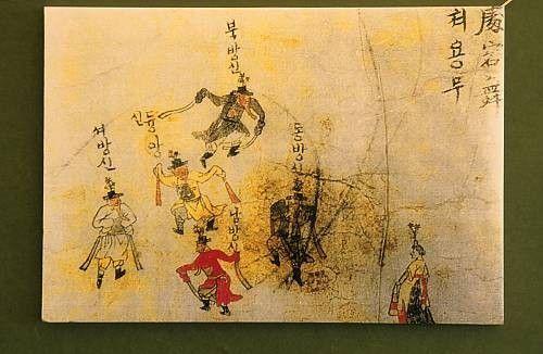 Patrimoine culturel immatériel de l'humanité - Cheoyongmu -