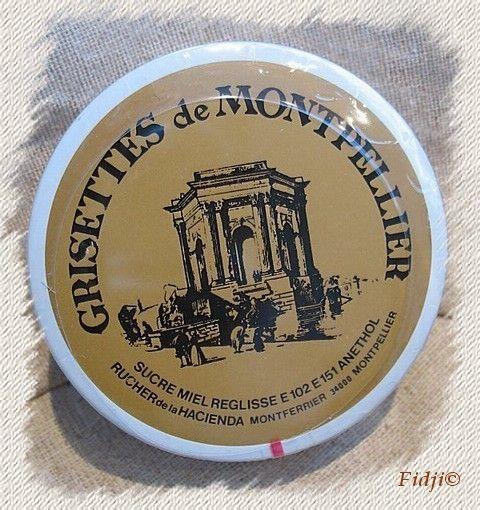 Bonbons et gourmandises - La grisette de Montpellier -