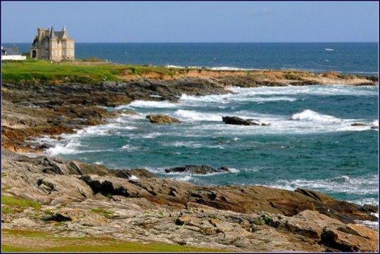 Balade en France - La côte sauvage de Quiberon -