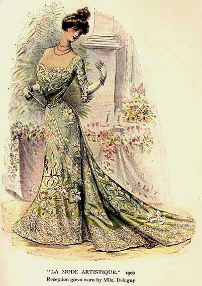 La(les)mode(s) - Mode en 1900 -