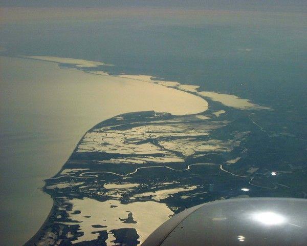 Deltas et estuaires - Delta du Rhône (Camargue) -