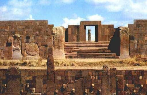 Civilisations anciennes - Machu Picchu. Tiahuanaco...