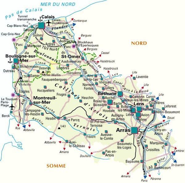 Plan De La Ville De Solesmes