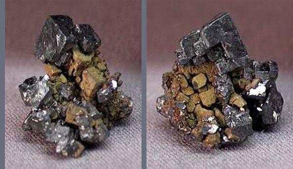 Les minéraux - Acanthite -