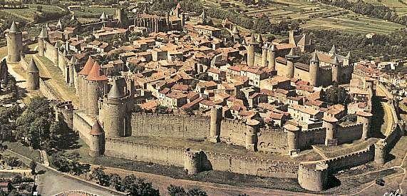 Villes françaises - Carcassonne -