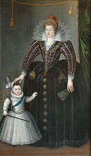 Enfants royaux - Nicolas duc d'Orléans, fils d'Henri IV