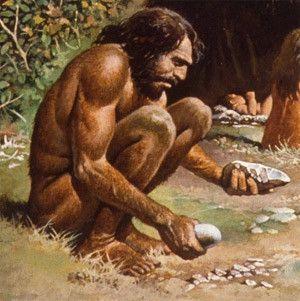 Préhistoire - hominidés - homo - sapiens -