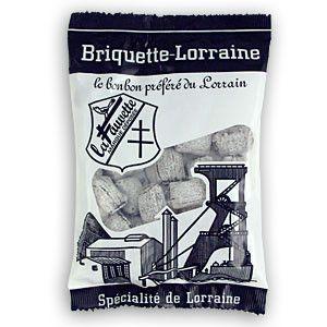 Bonbons et gourmandises - La briquette de Lorraine -