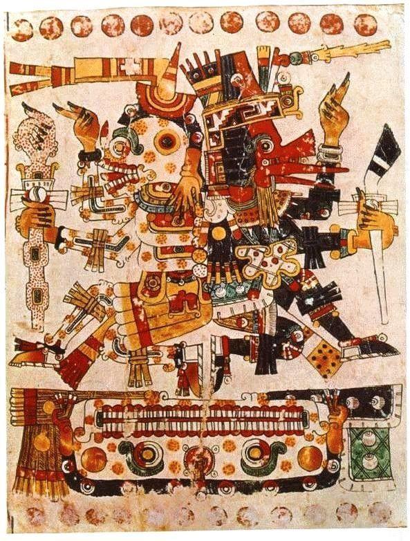 Mythologie amérindienne - Quetzalcóatl -