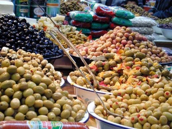 Les fruits - Olives -