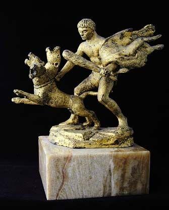 Mythologie Greco-romaine-Hercule-Travaux-12- Le Cerbère -