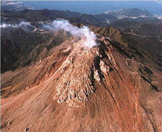 Les volcans - Le mont Unzen