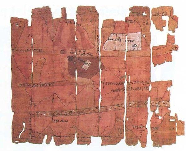 Histoire - Antiquité - Divers - Le papyrus de Turin -