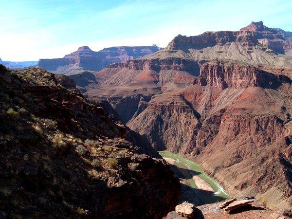 Montagnes et failles - Le plateau du Colorado -