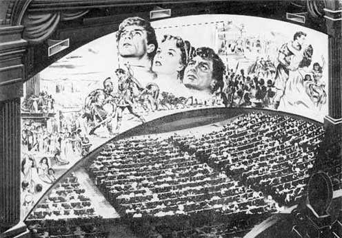 Années 50 - Le cinémascope -
