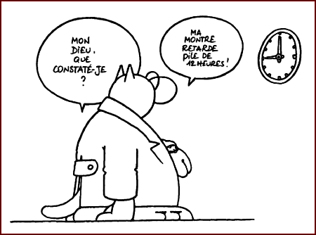 Rubrique à brac - Horloge parlante -