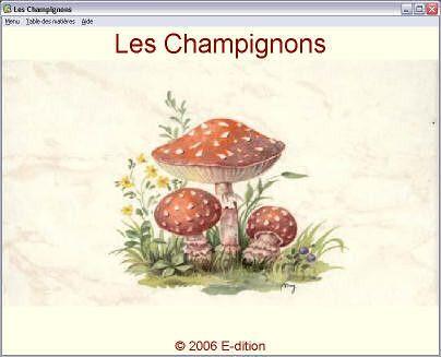 Champignons - Lexique mycologique -