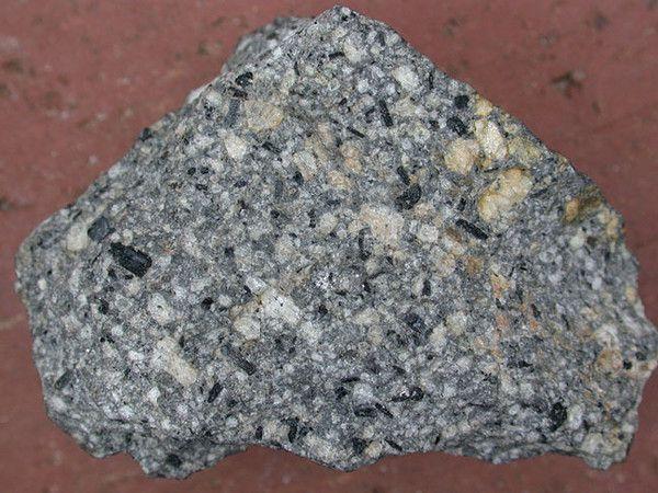 Les roches - L'andésite -