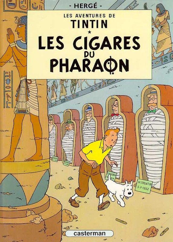 Histoire de la BD - Tintin -Les Cigares du Pharaon-