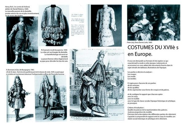 La(les)mode(s) - Costume au XVIIe siècle - (2)