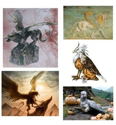 Religion - Créatures mythiques - Le Griffon -