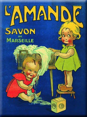 Pub et images - Le savon de Marseille -