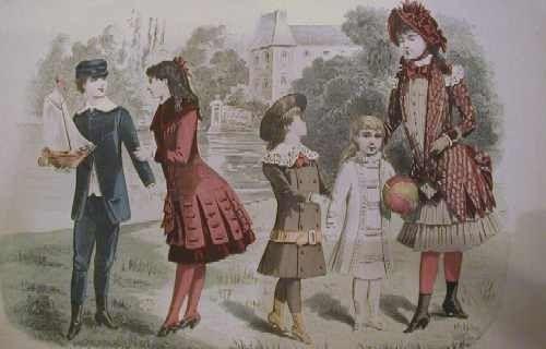 La(les)mode(s) - Mode au XIXe siècle -