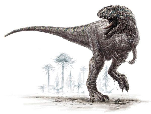 Les dinosaures -Les Saurischiens-groupe Théropodes -famille