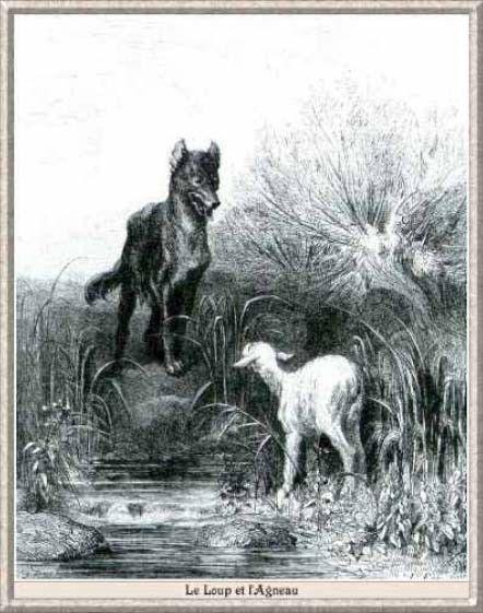 Fables de la Fontaine -Livre I- Le Loup et l'Agneau -