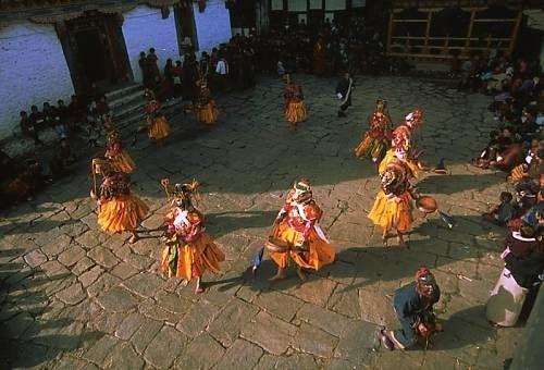 Patrimoine culturel immatériel de l'humanité-Danse  Masques