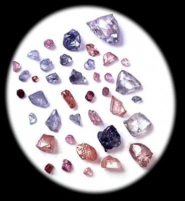Les gemmes et metaux précieux - Le diamant -