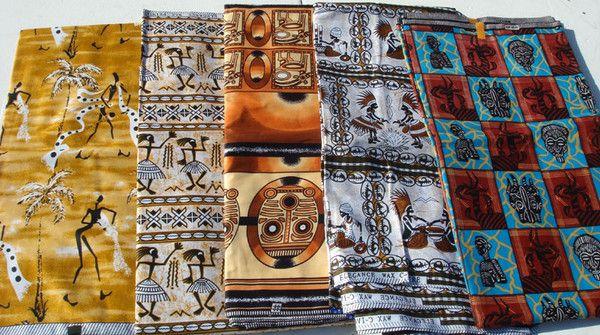 Costumes traditionnels et folkloriques - Le Pagne -