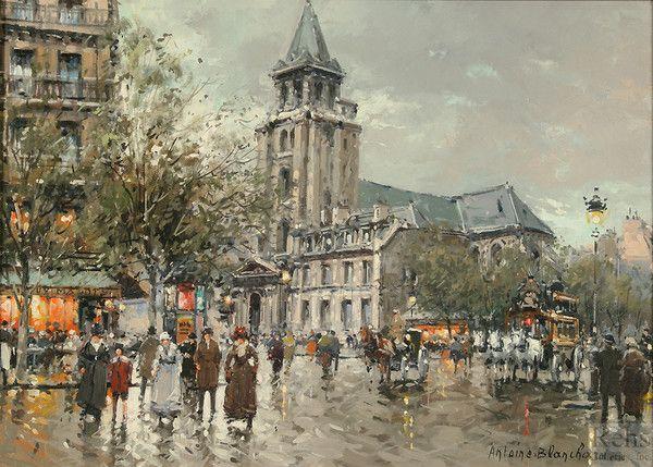 Tourisme et histoire - Paris - Saint germain des Prés -